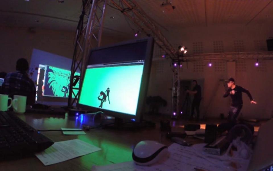 Workshop at Dramaten 2014